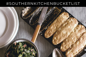 Southern Kitchen Bucket List by heirloomed blog