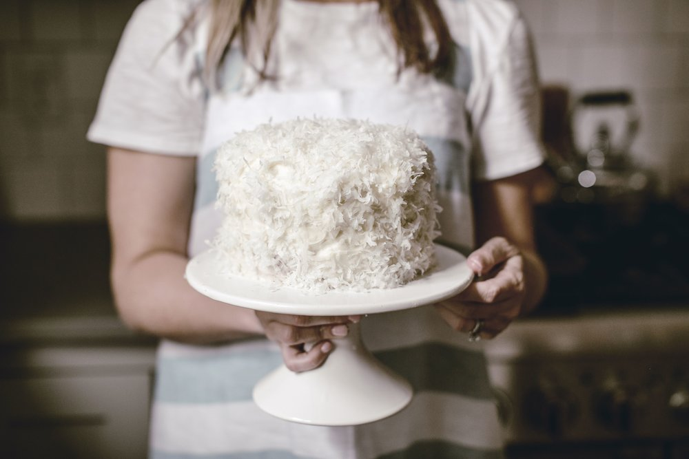 Coconut Cake by heirloomed