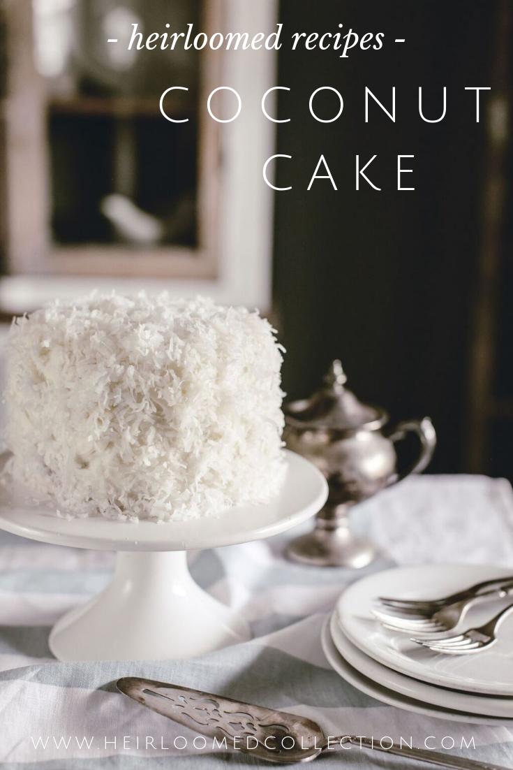 Coconut Cake Recipe by heirloomed