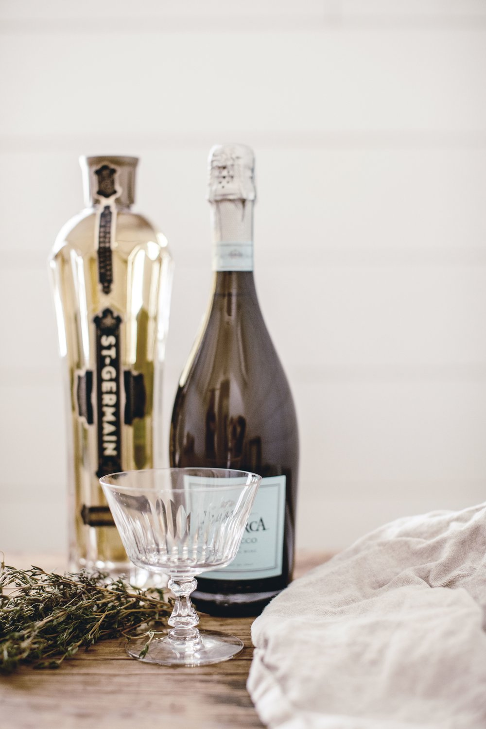 Prosecco cocktail by heirloomed