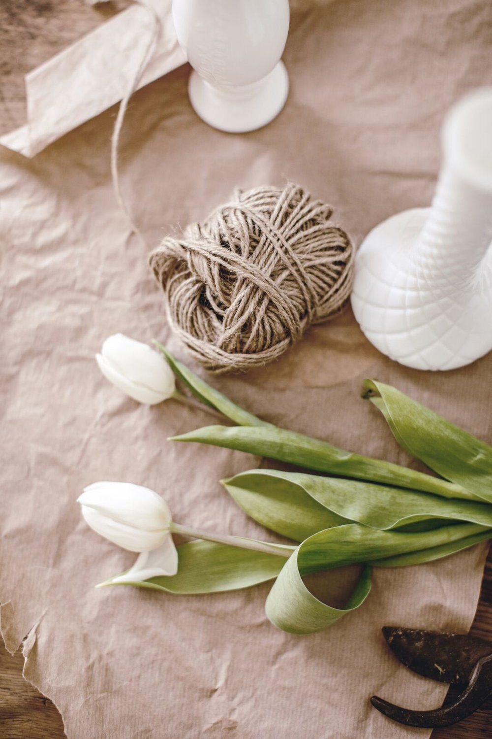 Market Tulip DIY by heirloomed