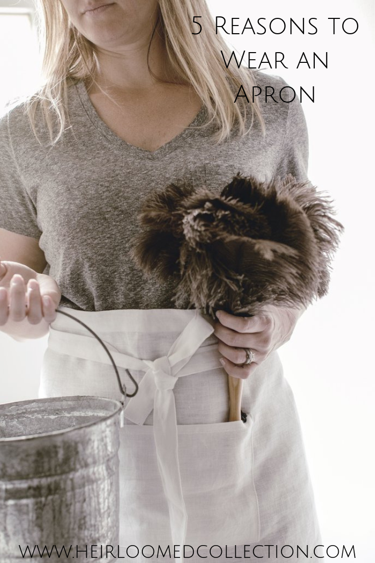 Aprons for Homekeeping + Simple Living
