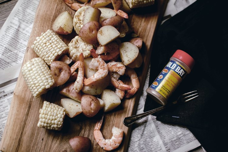 low country boil with shrimp