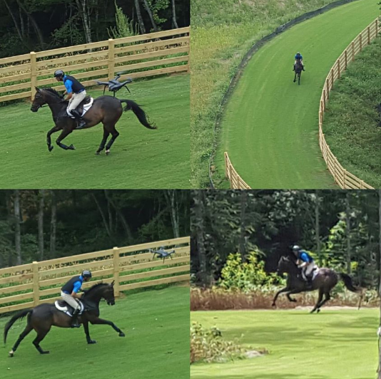 Yesterday I had the opportunity to gallop a track for the first time on what felt like world class footing at   ‪#‎tryoninternationalequestriancenter‬  . More cover  age will be out soon but I thought I'd beat them to the punch so you can hear it straight from the horses mouth. After galloping a portion of the track I could honestly say Mark has figured out the formula for beautiful footing. I was skeptical that the footing was either going to be too premature where I'd be slipping everywhere, or too bouncy with the talk of synthetic ground. It was neither. The grass was super thick, the root system is deep and the footing is firm. I galloped at various speeds and through turns to test the stability of the footing. There was no slipping nor did I ever punch in deep or saw grass flying up behind me. This is going to be a Championships course, so buckle up and be prepared. My horse Monte was wonderful with the drone flying about so there will be some video out soon as well so you can see for yourself. The future for Eventing at TIEC is really bright and expanding. These guys not only work fast, they work smart. ‪#‎unitedstateseventingassociation‬   ‪#‎EricDierks‬   ‪#‎americaneventingchampionships‬ #tryoninternationalequestriancenter