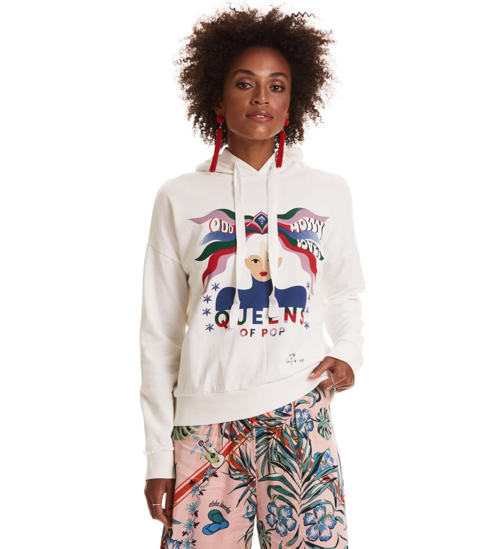 618K-305- Power proclamation hoodie- OFF WHITE- front.jpg