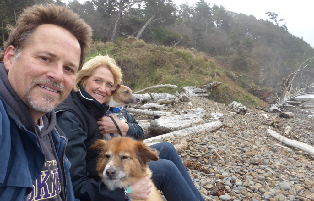 The Wright family on vacation at the always wonderful Oregon coast!