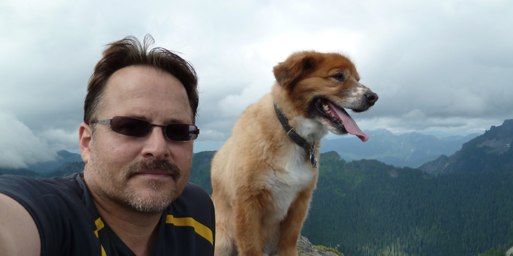 From 2010, Bogie and I take a trip to Mount Dickerman on a fantasic day hike.