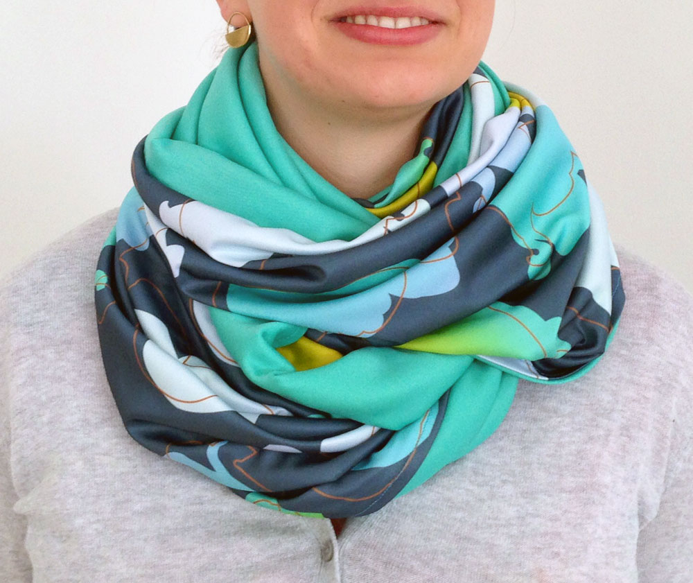 large-lilies-scarf-four