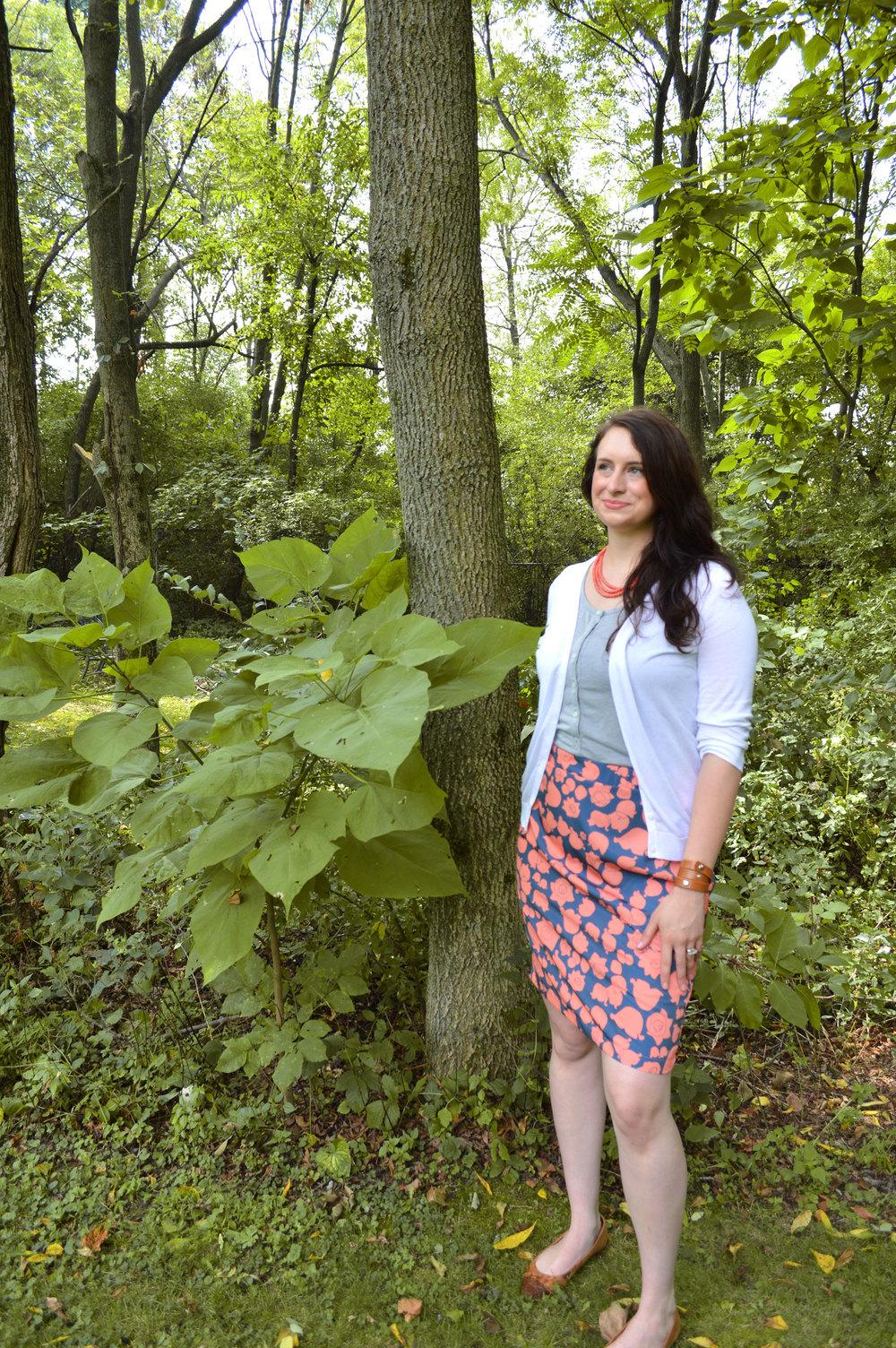 LOTV Sprawl Skirt by Anna Lisa Brown
