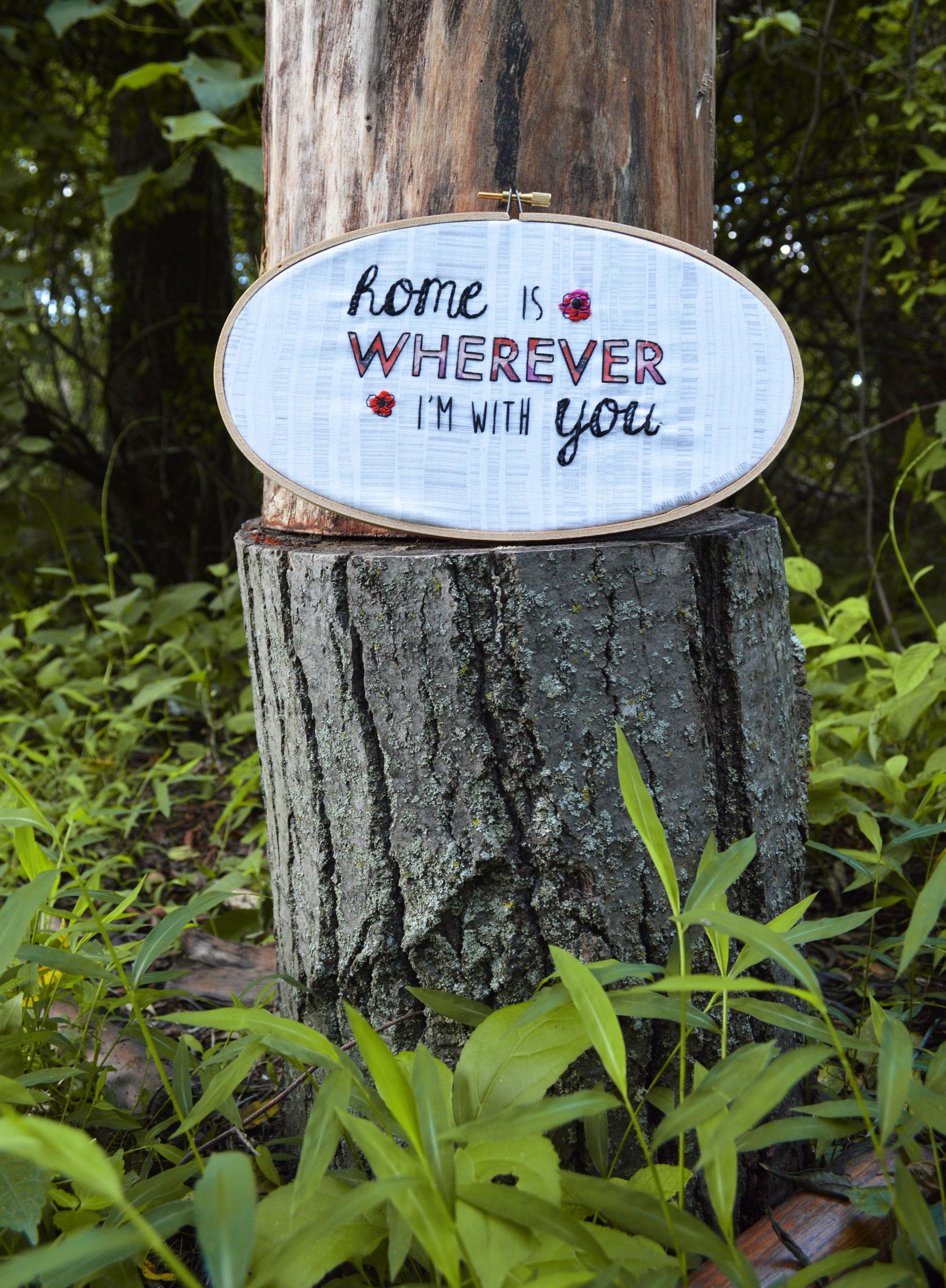 Home Hoop by Anna Lisa Brown