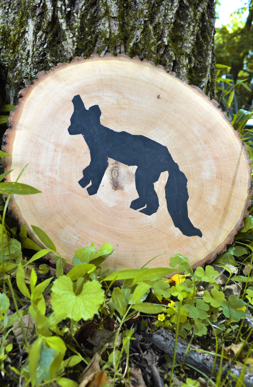 Fox Love Wood Slices by Anna Lisa Brown