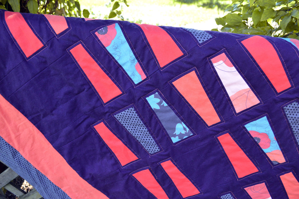 PB&J Quilt by Anna Lisa Brown