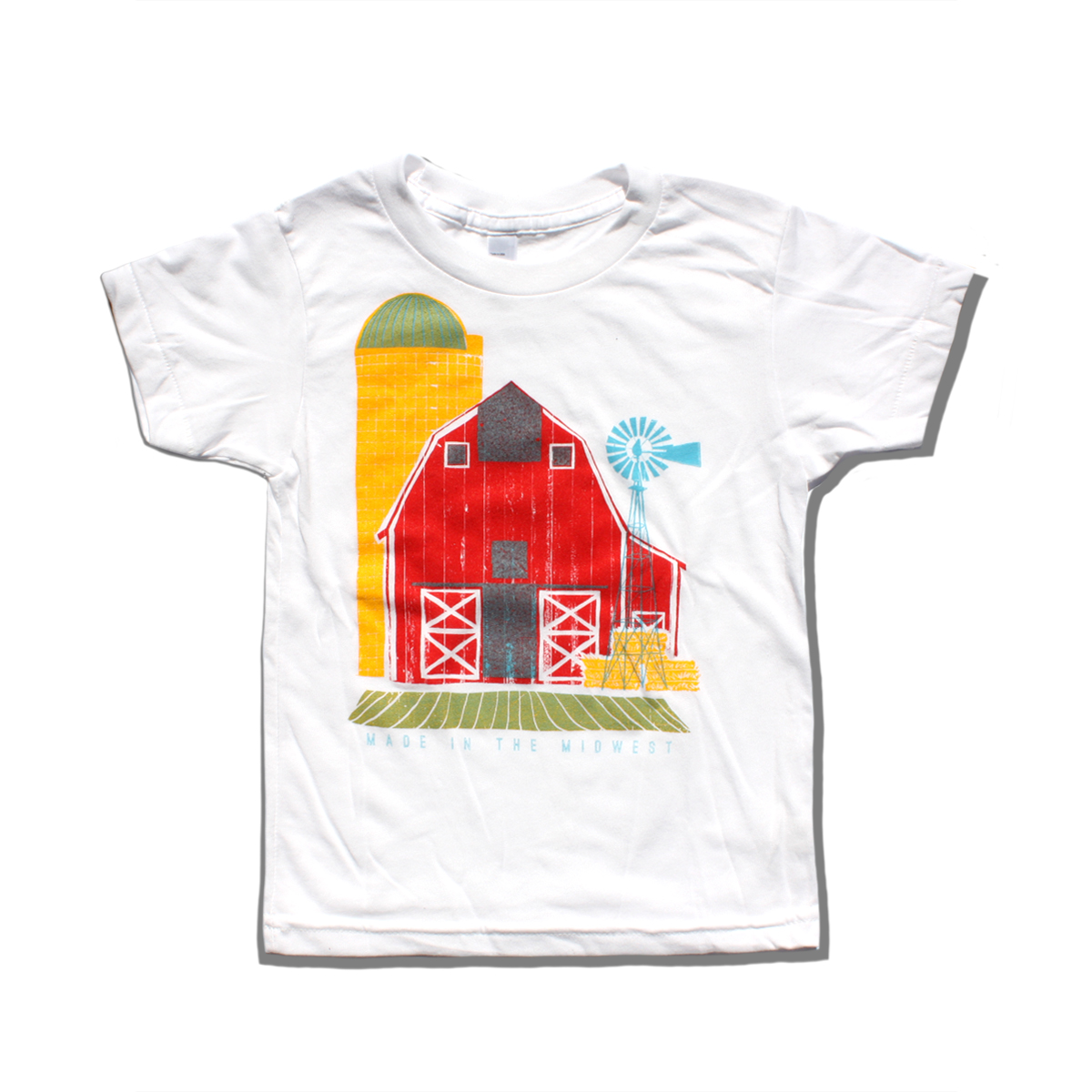 Made In The Midwest Kids T Shirt Bozz Prints