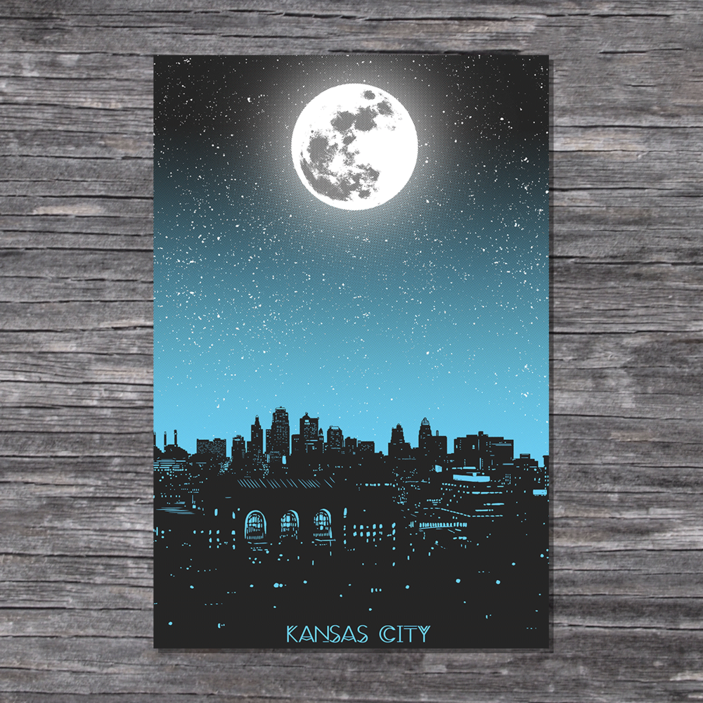 Postcard printing kansas city