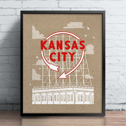 Kansas City Auto Sign Bozz Prints