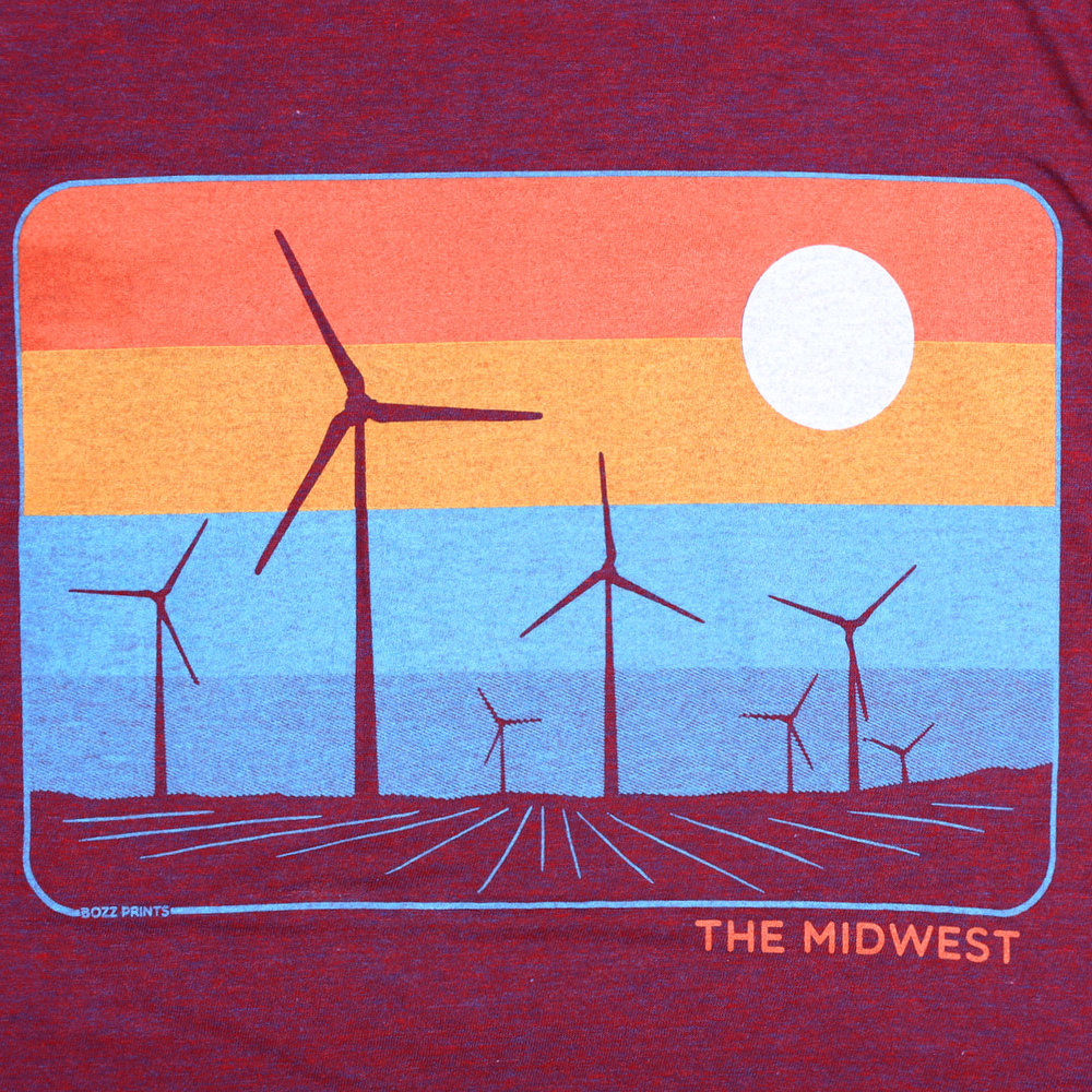The Midwest Cranberry T-Shirt 0ptYgNOl