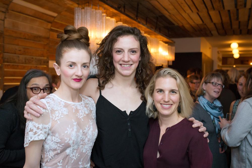 Dancers Rhonda Baker, Gillian Seward-Boone and Jacinte Armstrong.
