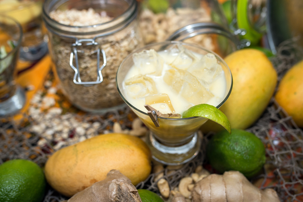 Stubborn Goat Gastropub  – Josh Jackman Ambika's Seat: Fisherman's Helper White Rum, oat and cashew syrup, mango juice, lime juice, ginger