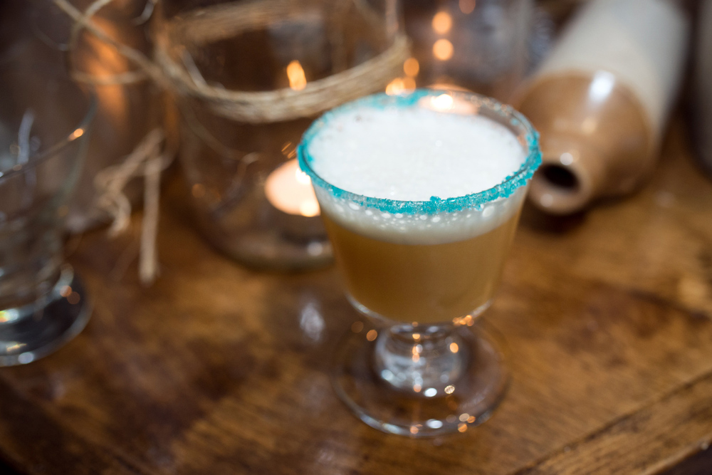 Durty Nellys – Matt Blades The Heisenberg: Brugal Anejo, Jagermeister, Galliano, lemon, pineapple, egg white