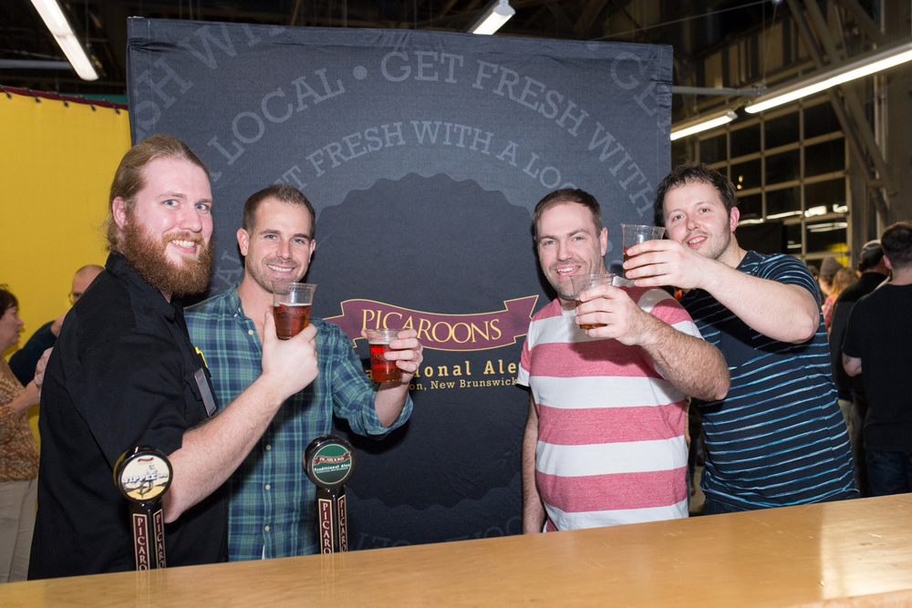 Picaroons Traditional Ale – They kept the band well watered!