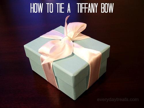 How to tie a Tiffany Bow — roxsar