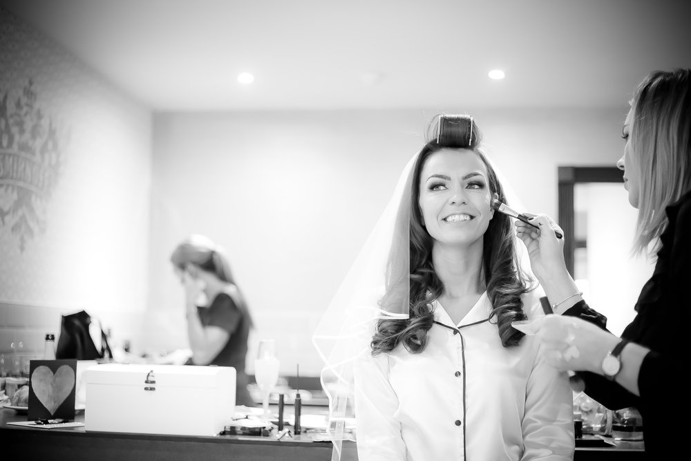 Bridal Prep at the Shankly