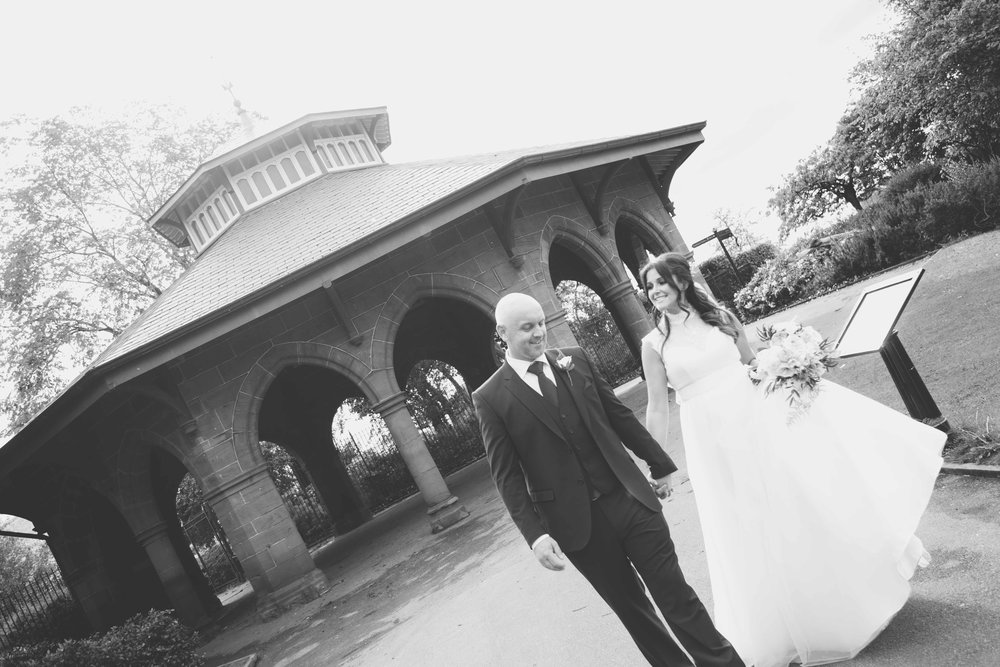 Wedding photographs at the isla gallstone