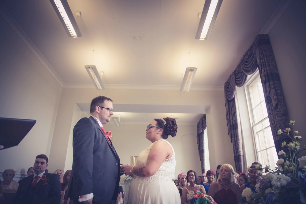 Wedding photos at St Georges Hall