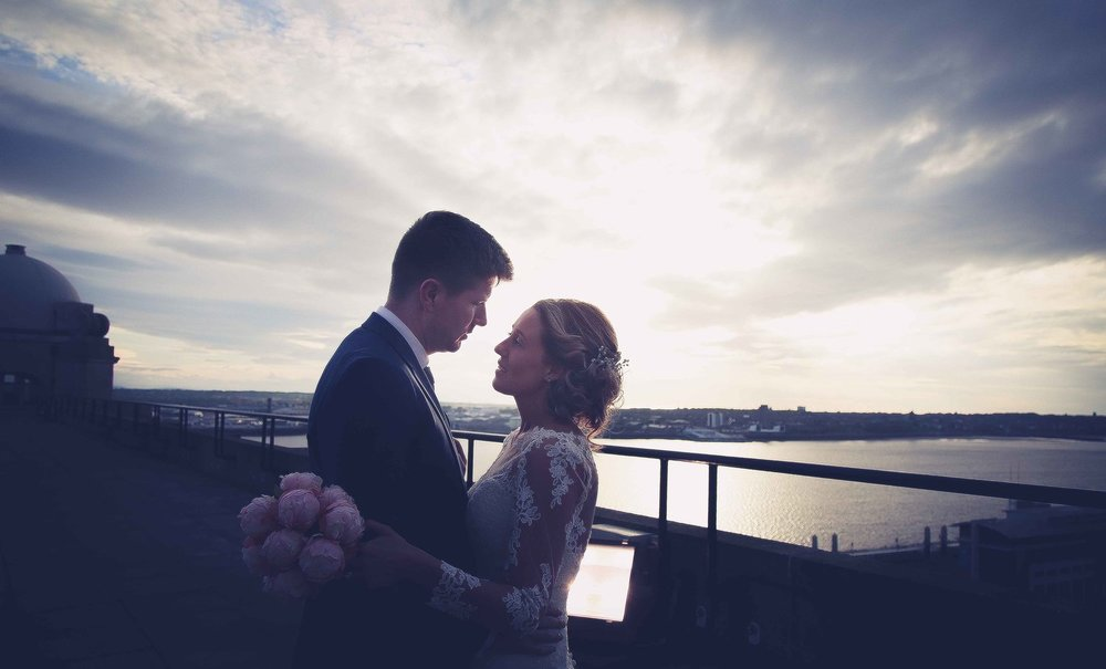 Wedding photography at the Liver Building