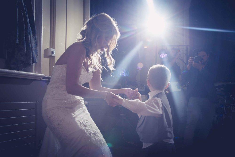 Bride & her son Dancing