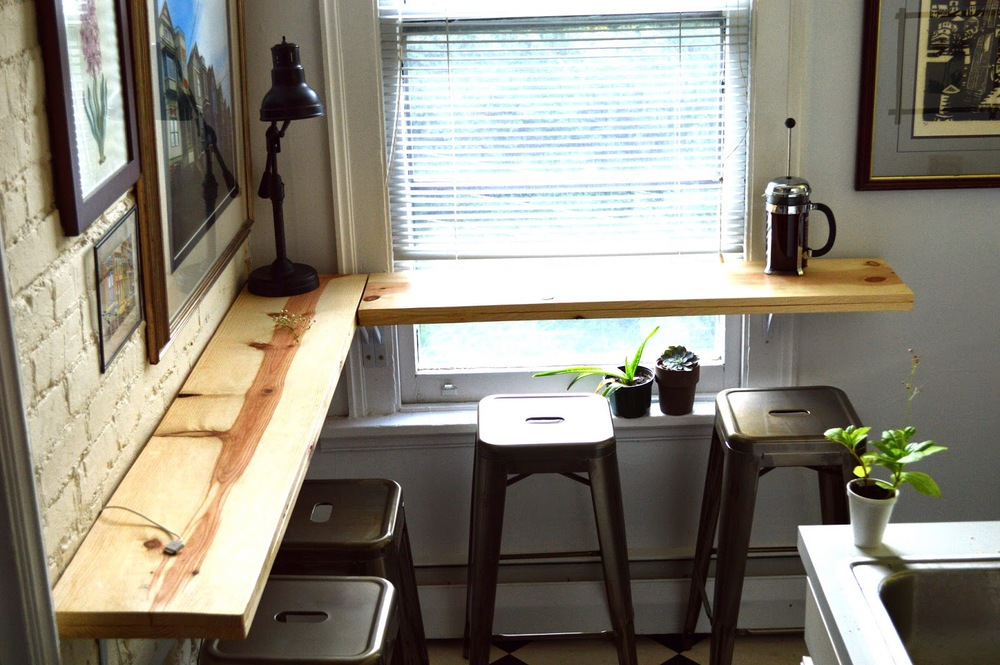 The Only Slight Problem: In A World Where Everything Is Tiny, A  Tall Large Square Kitchen Table ...