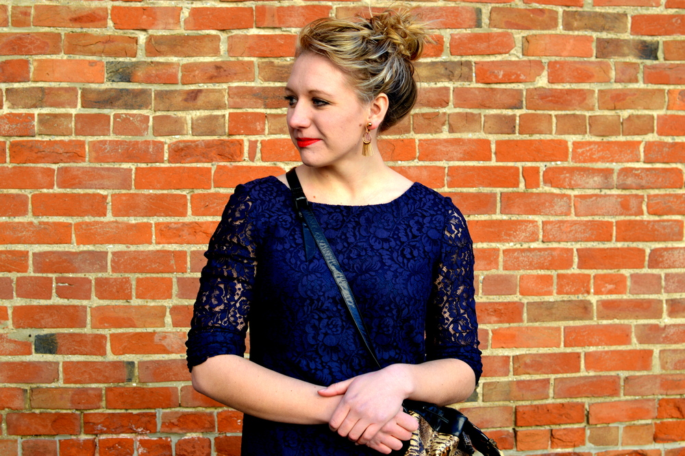 Vintage blue lace!