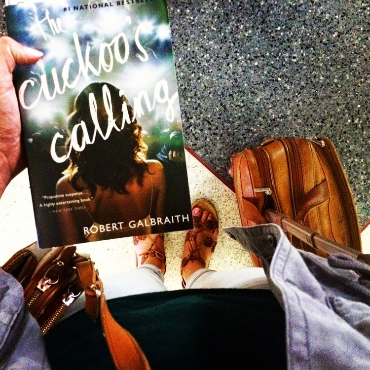 BOOK CLUB: THE CUCKOO'S CALLING