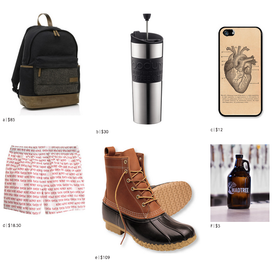 HIS VALENTINE'S GIFT GUIDE