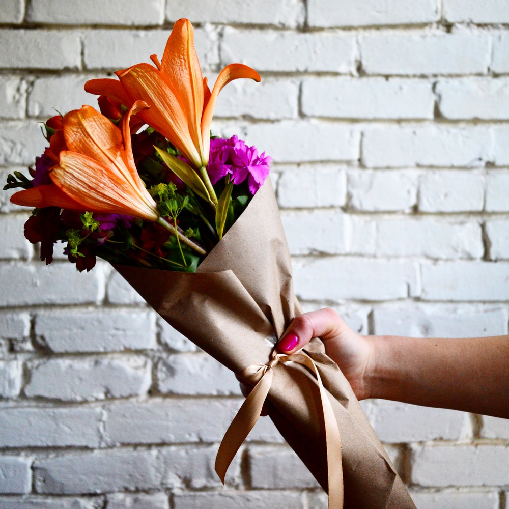 WRAPPING YOUR OWN BOUQUET