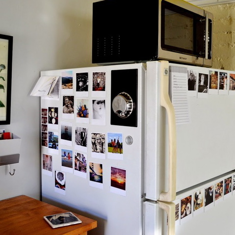 APARTMENT DIY: INSTAGRAM FRIDGE MAGNETS