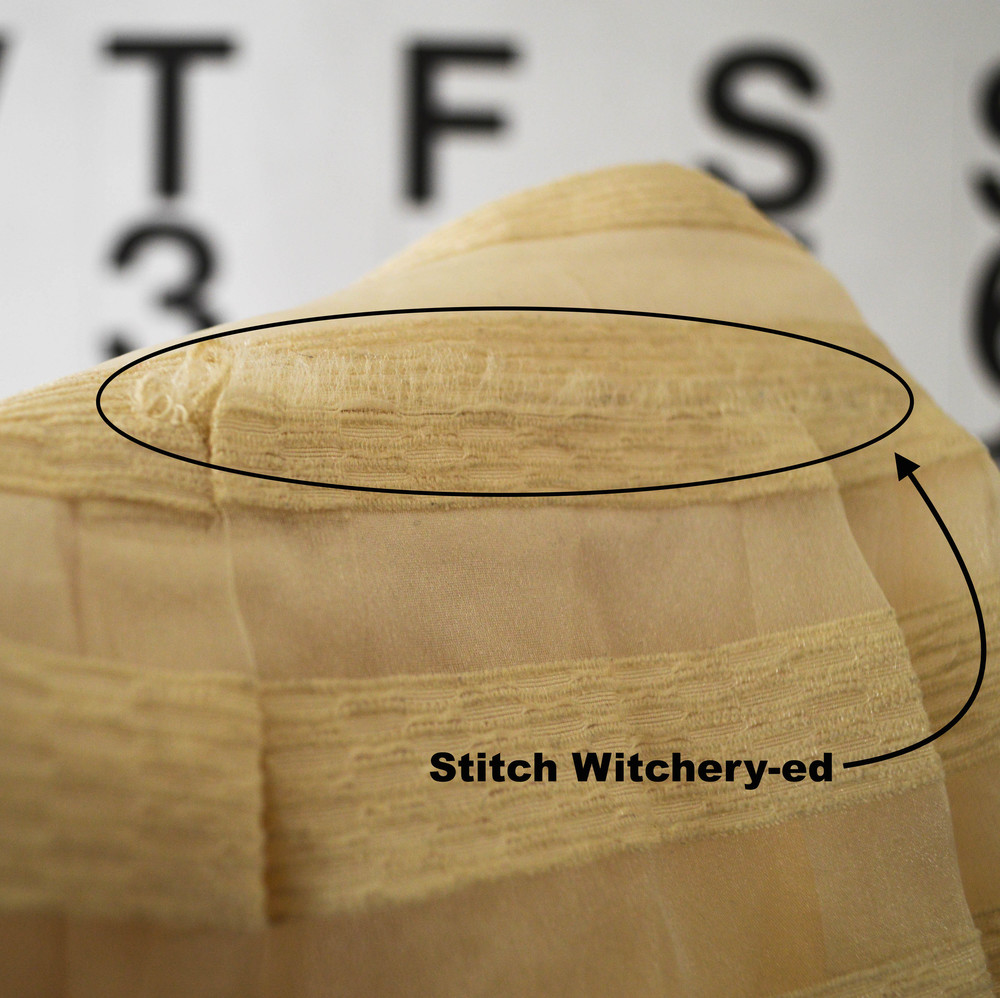 NO-STITCH SKIRT REPAIR