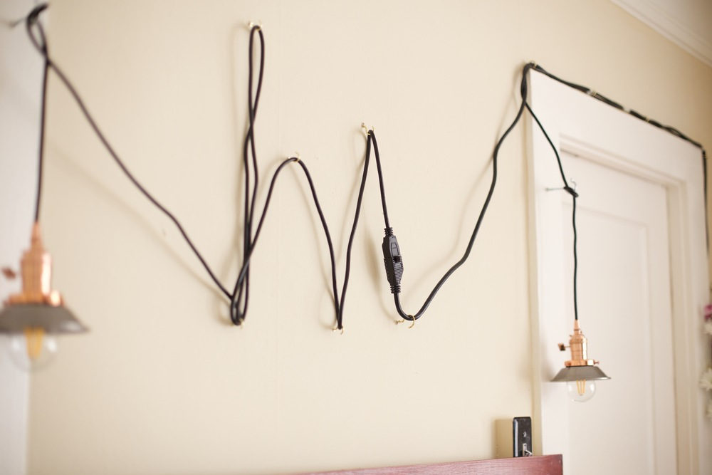 Cute option for electrical wires