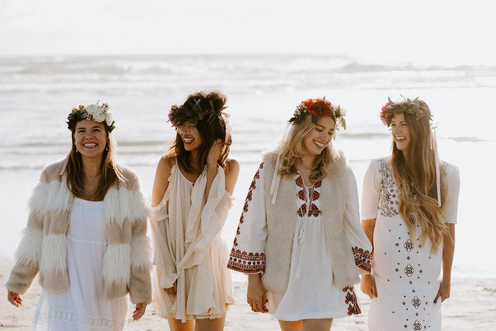 Boho Beach Babes