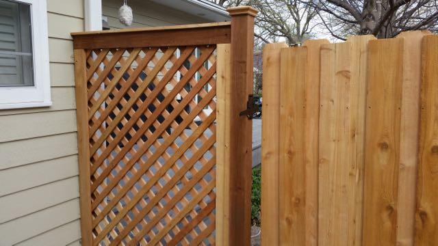 Wood Fence Door Gate 20150428_160508.jpg & Door and Gate Treatments u2014 Barrk Art