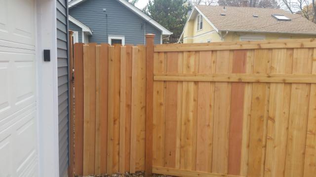 Wood Fence Door Gate 20161102_150640