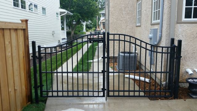 wrought iron fence gate. Wrought-Iron-Fence-Gate-20150811_155641.jpg Wrought Iron Fence Gate