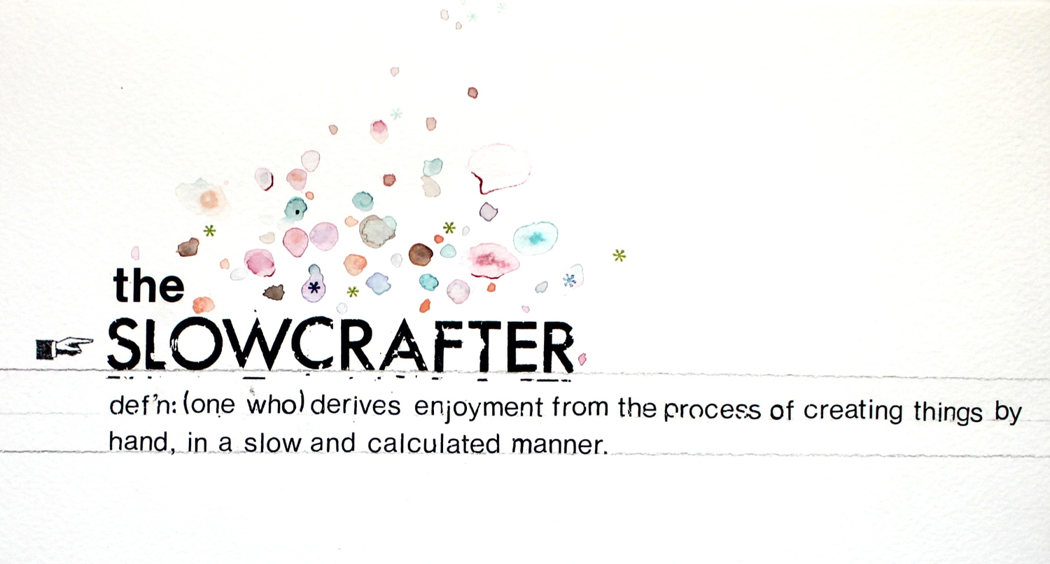 the slowcrafter