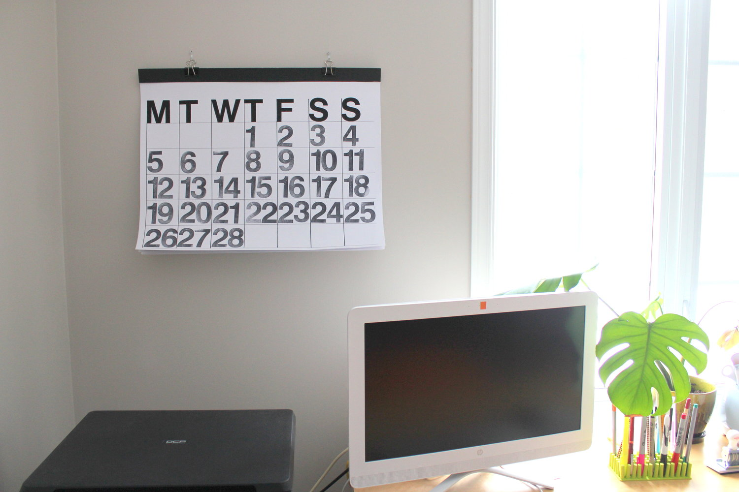 How To Make A Diy Stendig Calendar The Slowcrafter