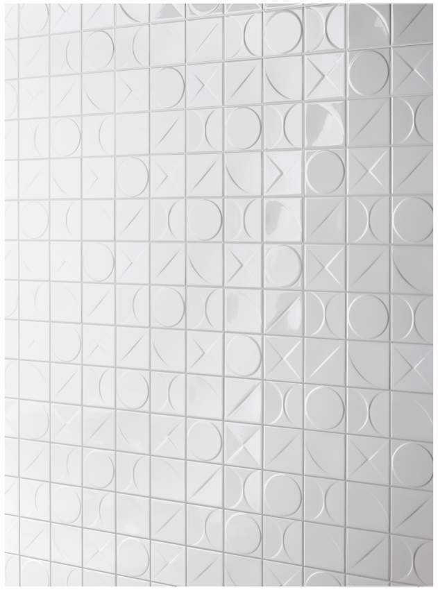 Tiles designed in collaboration with Ger van Vliet and Kees Luesen