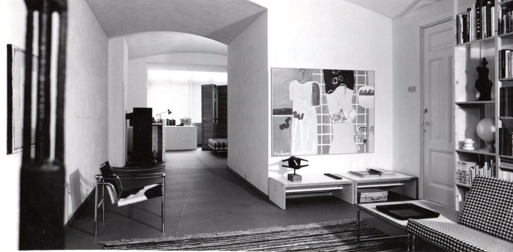 Living room, 1st floor. Photo Jan Versnel