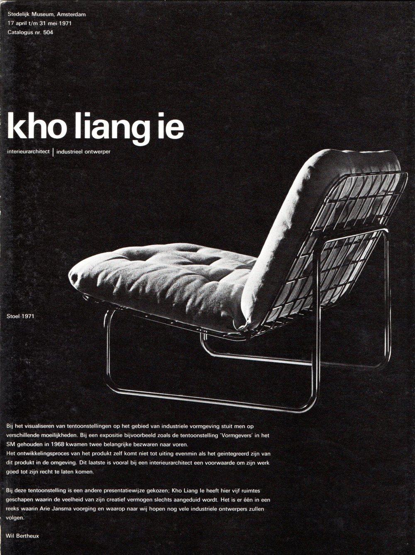 Kho Liang Ie, Stedelijk Museum Amsterdam 1971