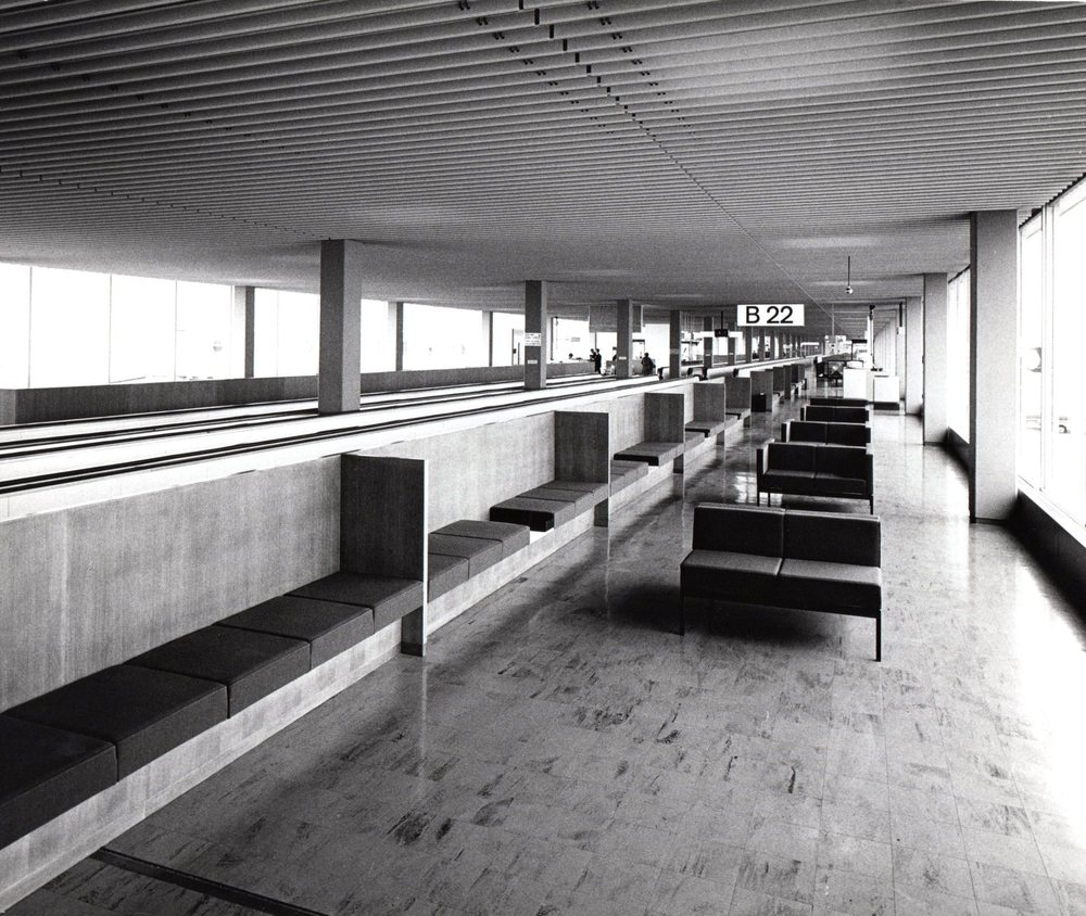 Schiphol (Amsterdam airport) 1967