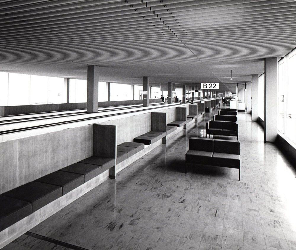 Schiphol (Amsterdam airport) 1967
