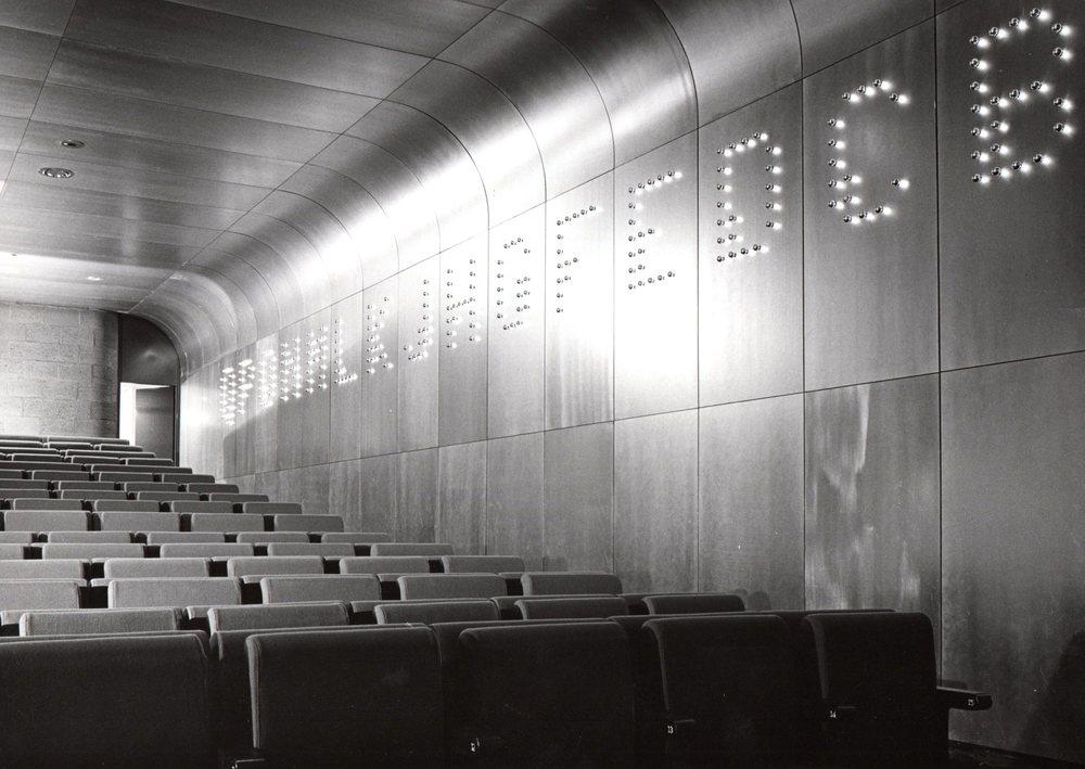 Lijnbaan cinema Rotterdam 1971